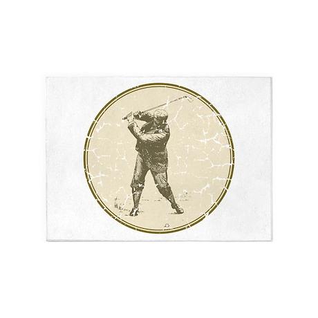 Golfer 5'x7'Area Rug