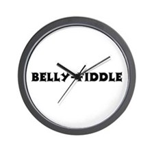 Belly-Fiddle Wall Clock
