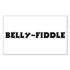 Belly-Fiddle Rectangle Decal