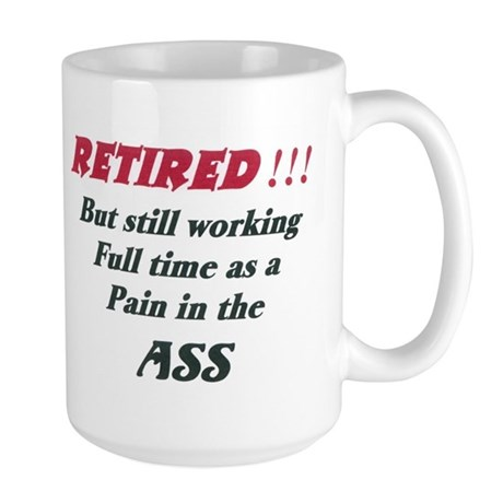 OF Full Time Pain Large Mug