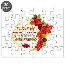 Tajik Girlfriend Valentine design Puzzle