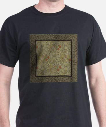 William Morris Floral lily willow art prin T-Shirt