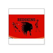 REDSKINS Custom Sticker