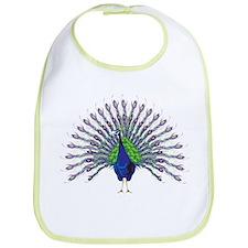 Peacock Bib