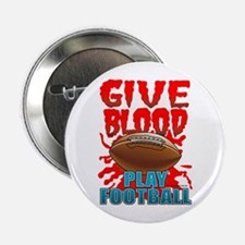 Give Blood Play Football Button