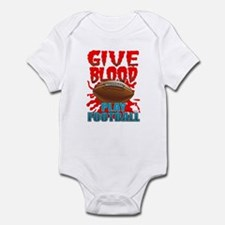 Give Blood Play Football Infant Bodysuit