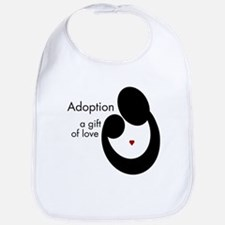 ADOPTION GIFT OF LOVE Bib