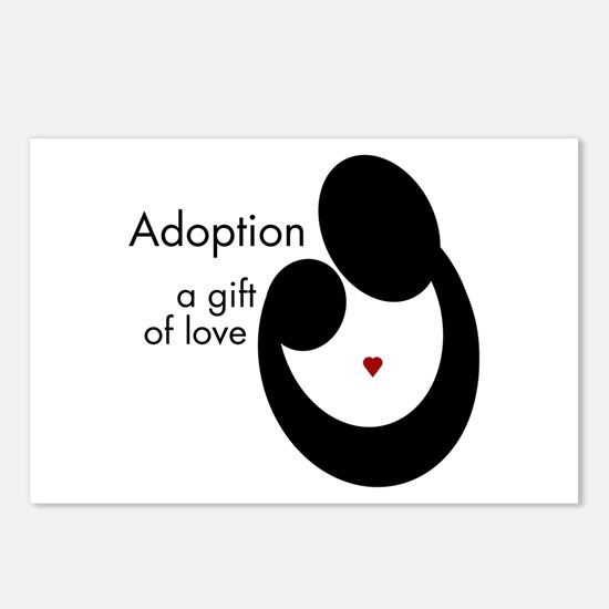 ADOPTION GIFT OF LOVE Postcards (Package of 8)