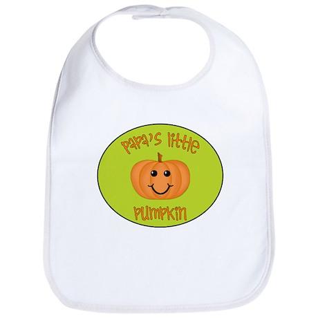 Papa's Little Pumpkin Bib