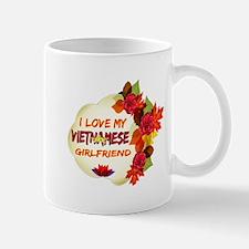 Vietnamese Girlfriend Valentine design Mug