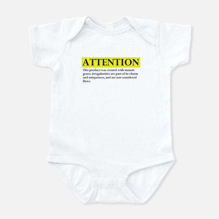 attention Infant Bodysuit