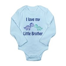 I love my Little Brother Long Sleeve Infant Bodysu
