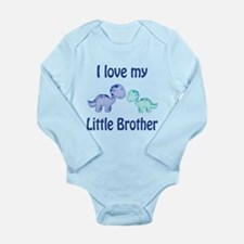 I love my Little Brother Long Sleeve Infant Bodysu