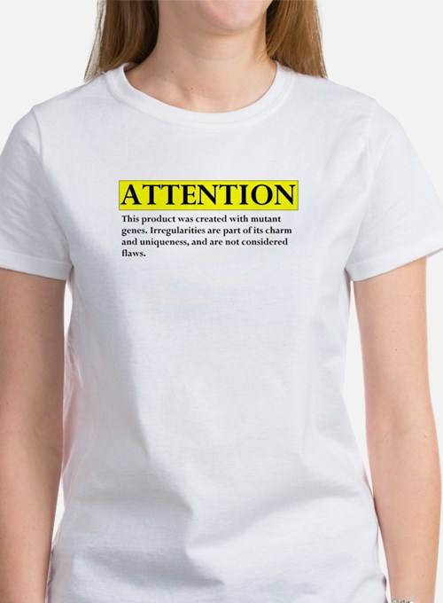 attention Women's T-Shirt