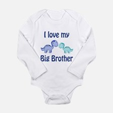 I love my big brother! Long Sleeve Infant Bodysuit