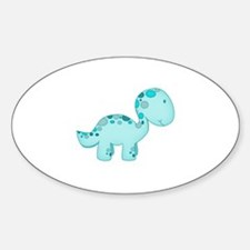 Dinosaur Blue Decal