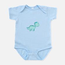 Dinosaur Blue Infant Bodysuit