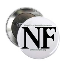 "Unique Neurofibromatosis 2.25"" Button (10 pack)"