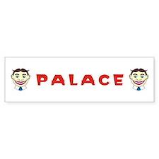 Palace Bumper Sticker