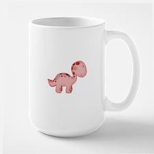 Baby Dino Red Large Mug