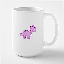 Baby Dino Purple. Large Mug