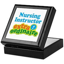 Nursing Instructor Extraordinaire Keepsake Box