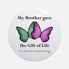 Brother Gift Ornament (Round)