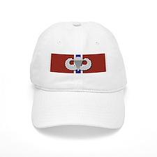 Airborne Bronze Star Baseball Baseball Cap
