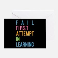 FAIL Greeting Card