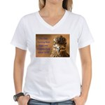 Chicken Feed Women's V-Neck T-Shirt