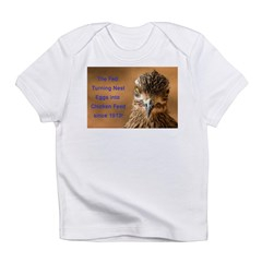 Chicken Feed Infant T-Shirt