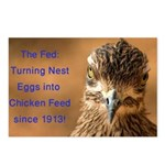Chicken Feed Postcards (Package of 8)
