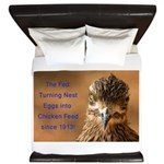 Chicken Feed King Duvet