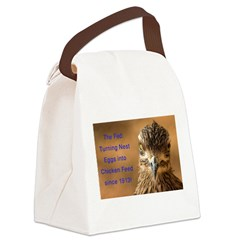Chicken Feed Canvas Lunch Bag