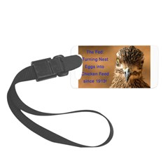 Chicken Feed Luggage Tag