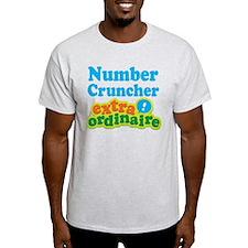 Number Cruncher Extraordinaire T-Shirt
