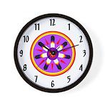 EAGLE FEATHER MEDALLION Wall Clock