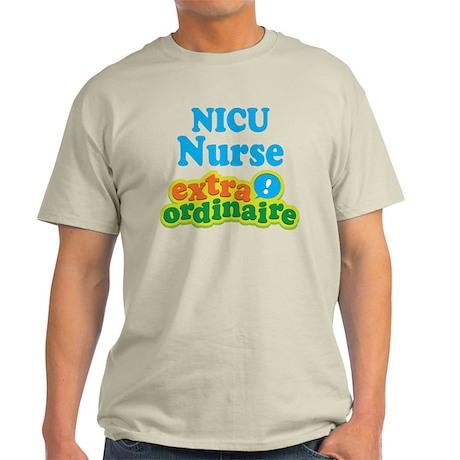 NICU Nurse Extraordinaire Light T-Shirt