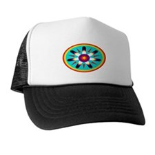 EAGLE FEATHER MEDALLION Trucker Hat