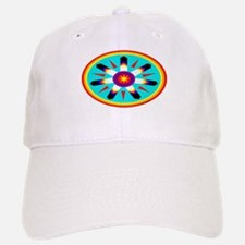 EAGLE FEATHER MEDALLION Baseball Baseball Cap