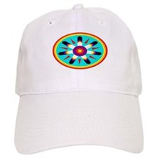 EAGLE FEATHER MEDALLION Baseball Cap