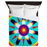 Eagle native american style Duvet Covers