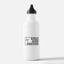 REAL MEN COUPON Water Bottle