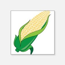 "Corn Square Sticker 3"" x 3"""
