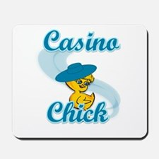 Casino Chick #3 Mousepad