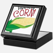 Powered By Corn Keepsake Box