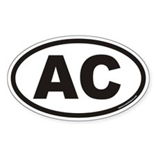 AC Euro Oval Decal