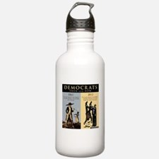 Democrats and Slavery Water Bottle