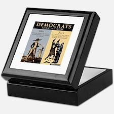 Democrats and Slavery Keepsake Box