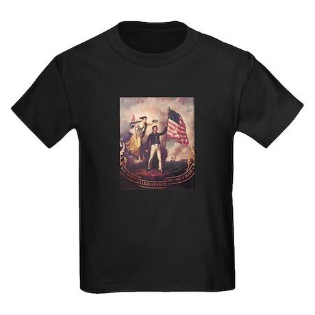 No Allegiance to the Crown Kids Dark T-Shirt